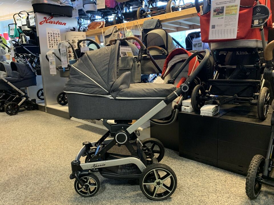 HARTAN Xperia 2018 Kombi-Kinderwagen - XL-Set
