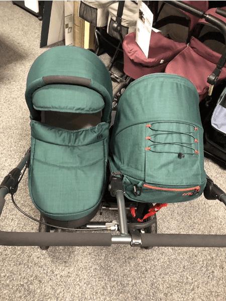 tfk Twin Adventure 2 Zwillingswagen - XL-Set