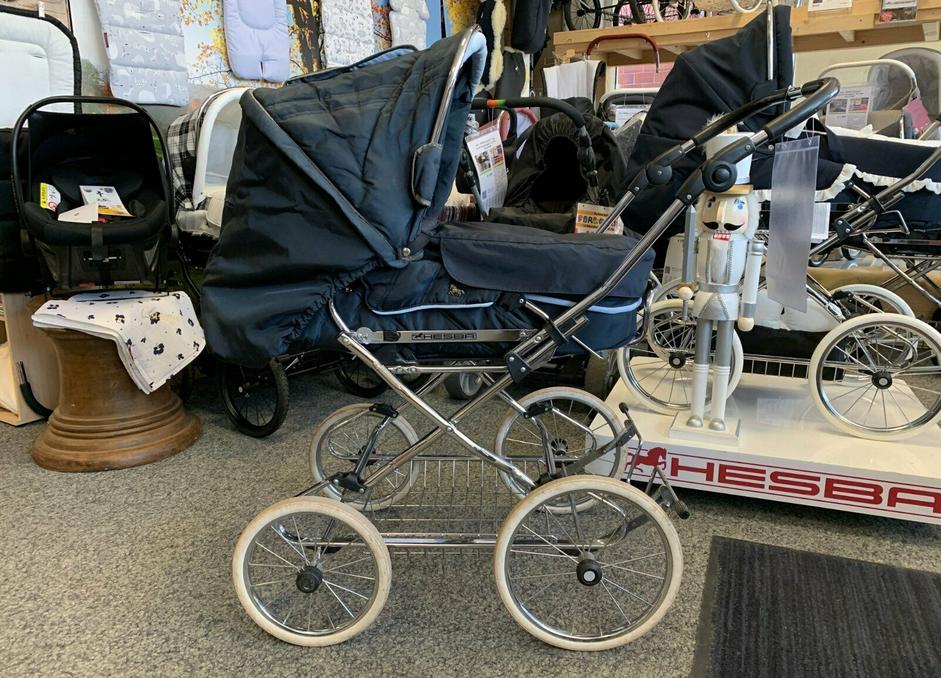 HESBA Concepto Cabrio Kombi-Kinderwagen - XXL-Set