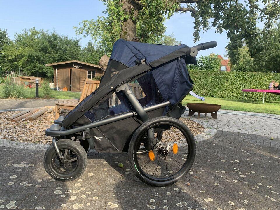 tfk® VELO 2 Fahrrad-Anhänger inkl Deichsel - XXL-Set - FIRLEFANZ
