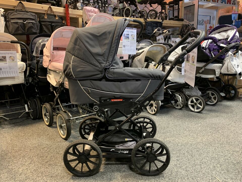 Emmaljunga City Cross Kombi-Kinderwagen - XL-Set