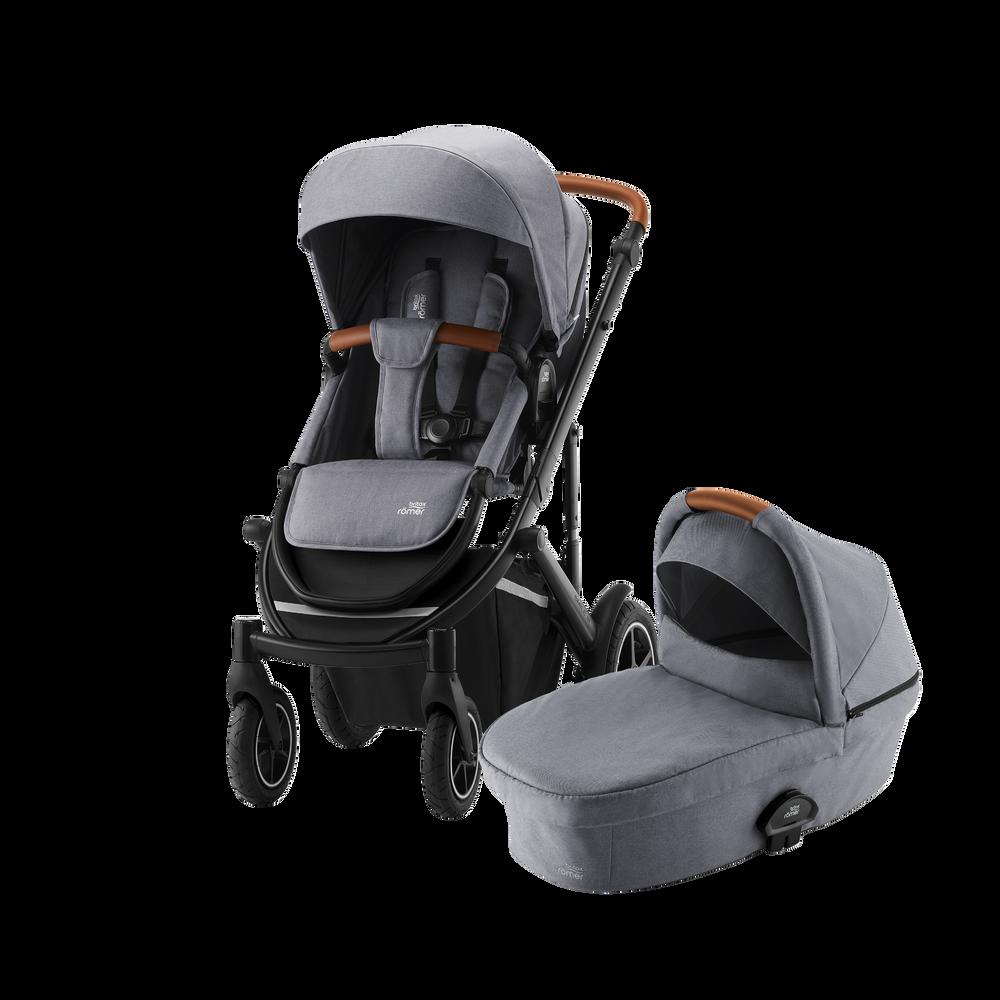 Britax SMILE III - Essential Bundle (Sportwagen & Kinderwagenaufsatz)
