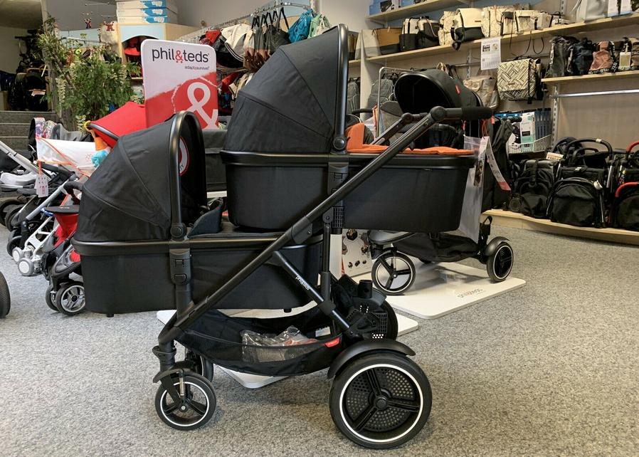 phil&teds Voyager™ Zwillingswagen