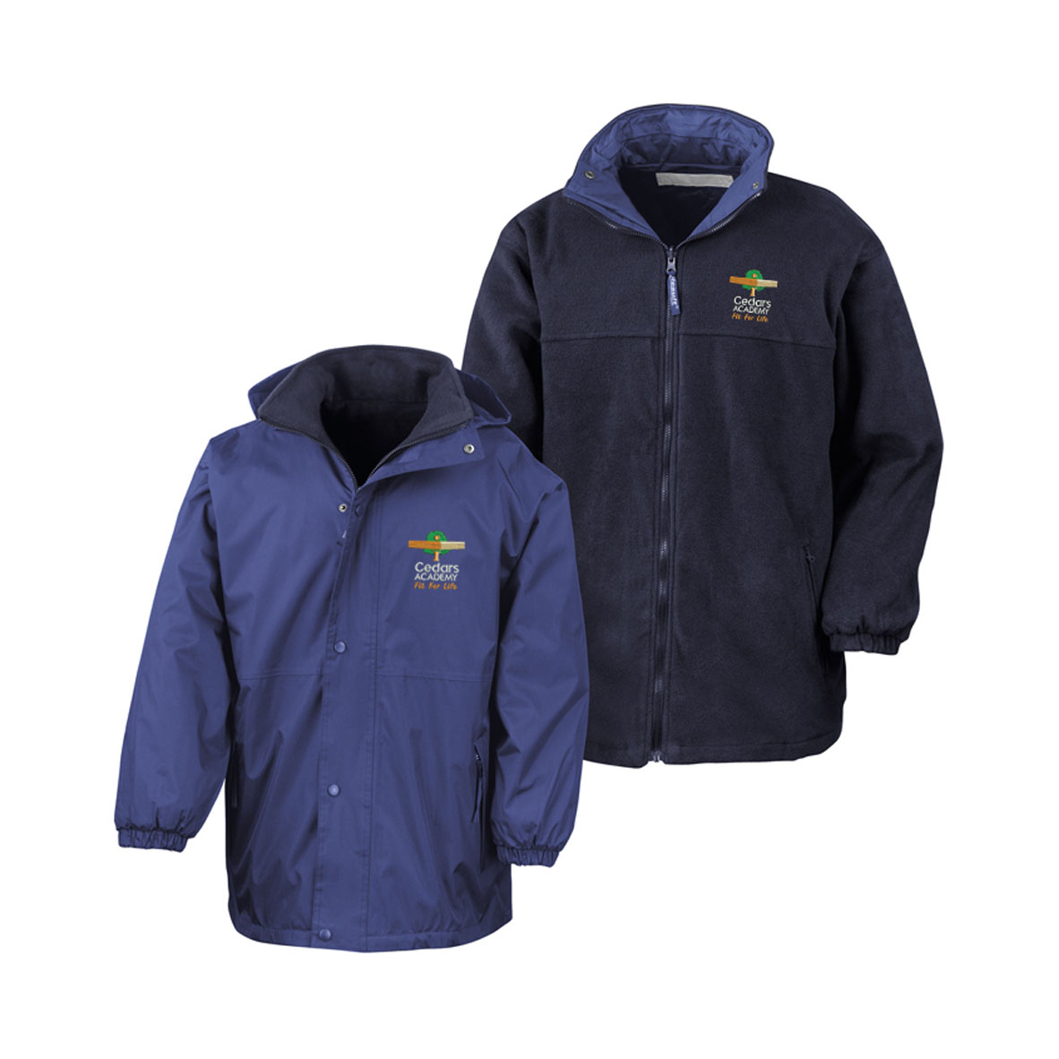 Cedars Reversible Coat