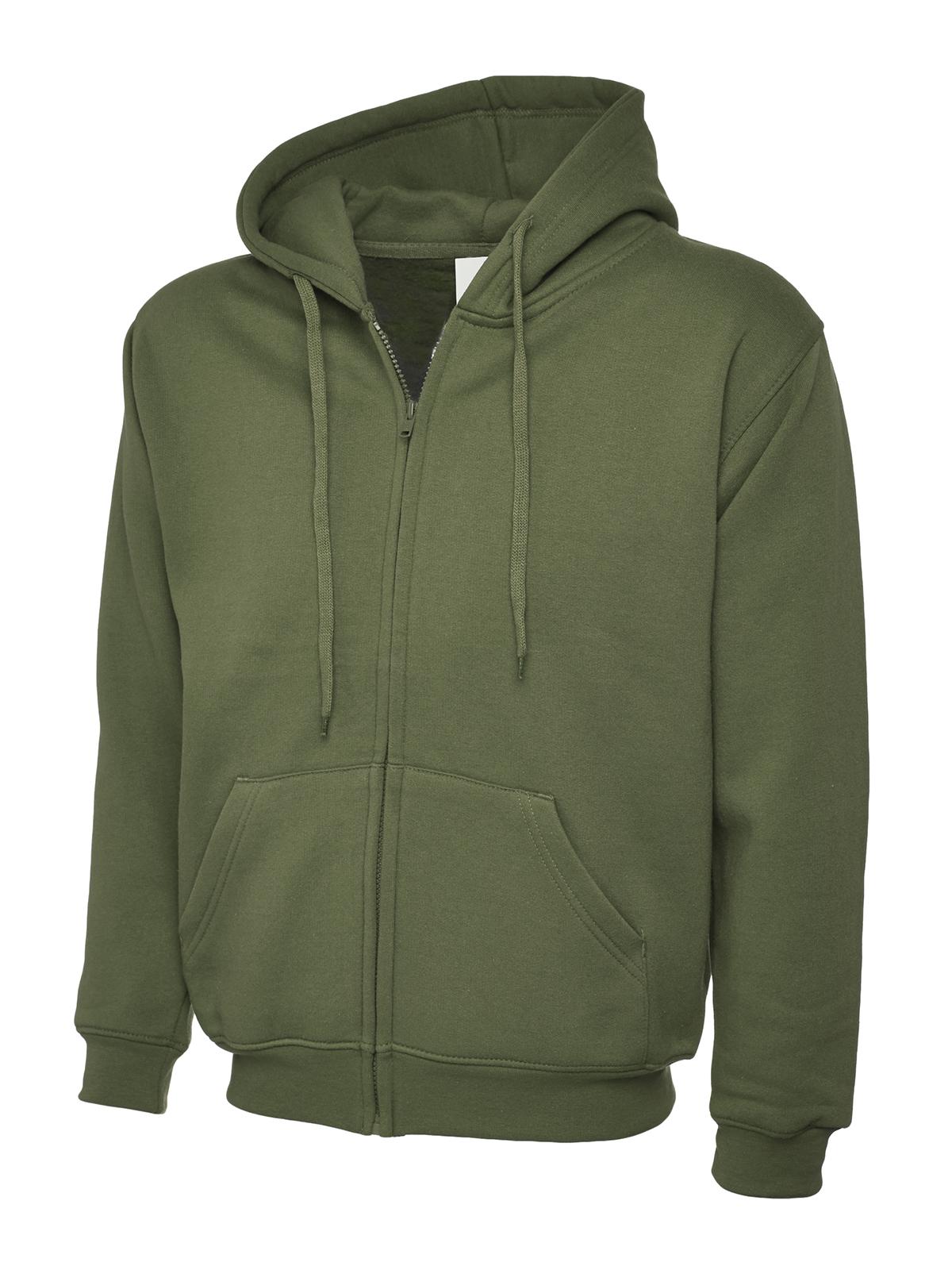 Zip Hooded Sweatshirt UC504