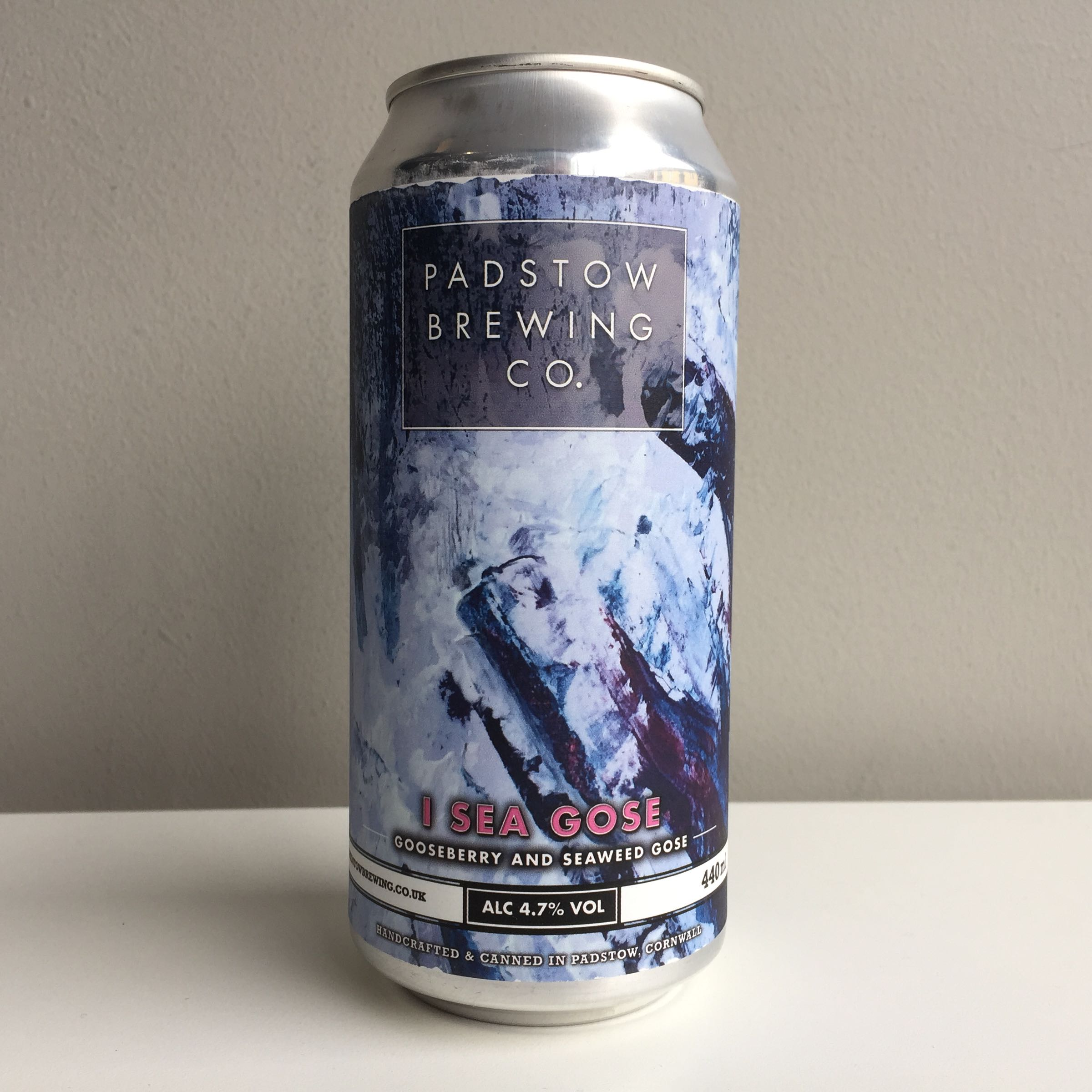 Padstow Brewing Co. 'I See Gose' Gooseberry and Seaweed Gose 440ml 4.7% ABV