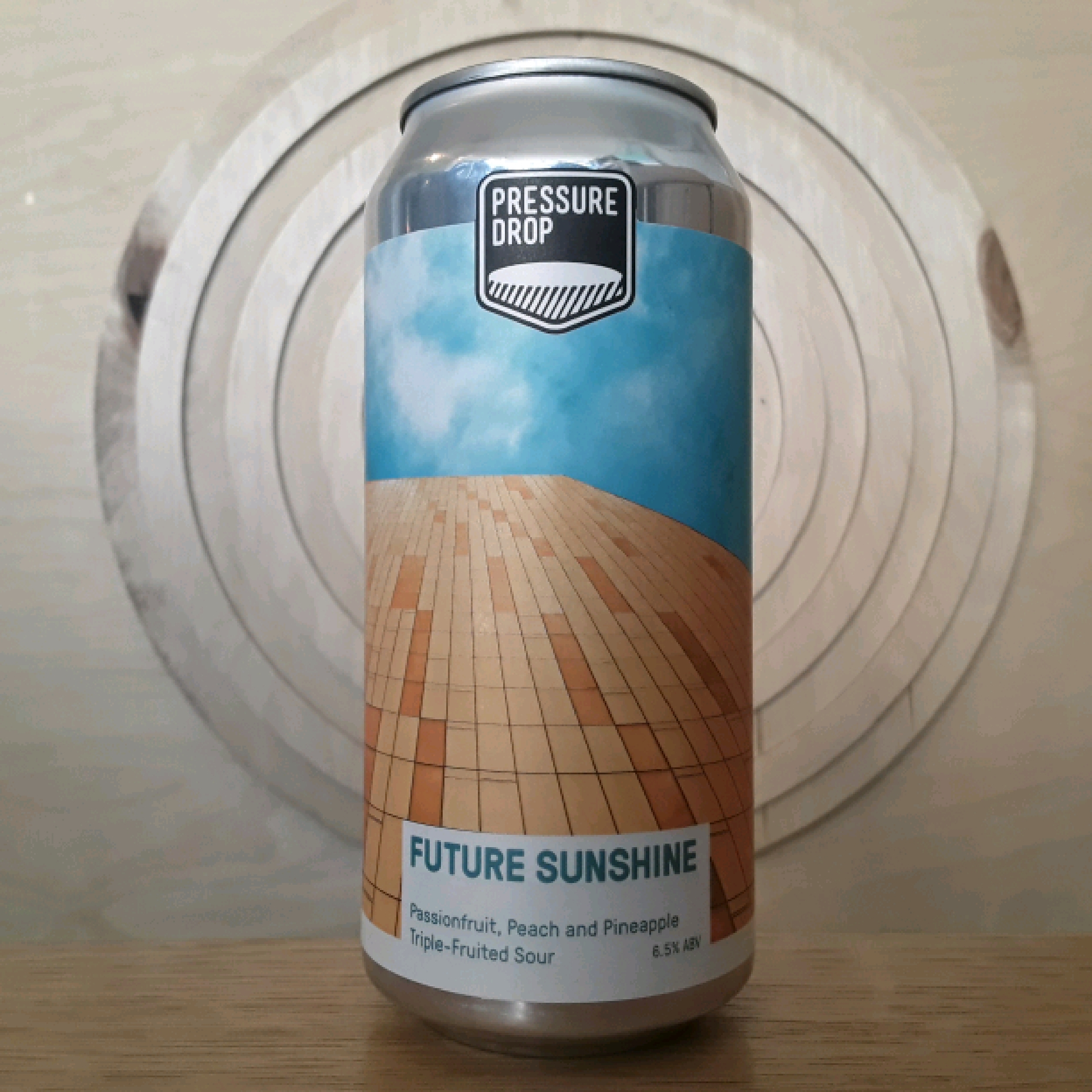 Pressure Drop Future Sunshine Peach, Pineapple & Passionfruit | Sour