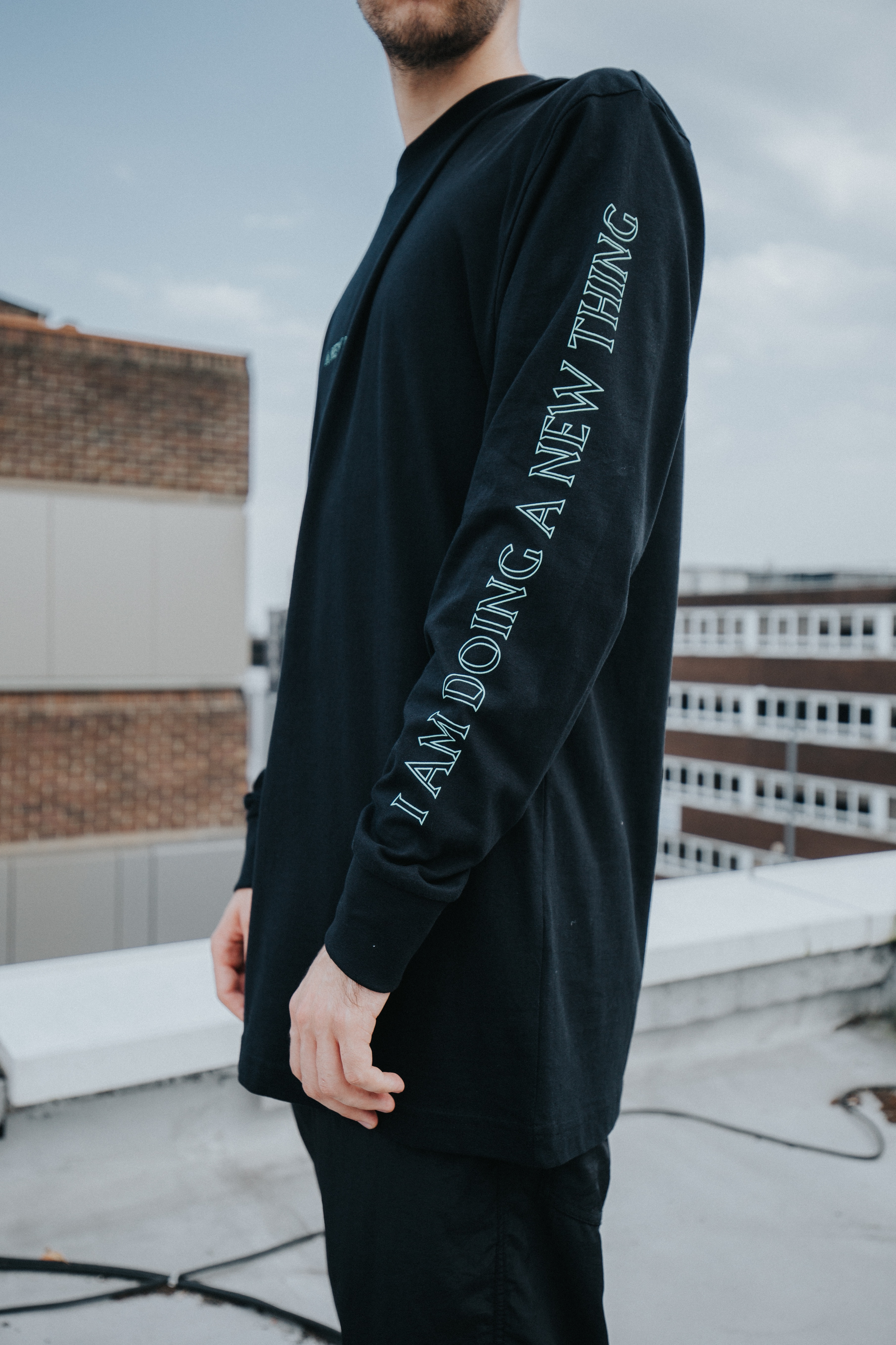 Black LongTee (A New Normal)