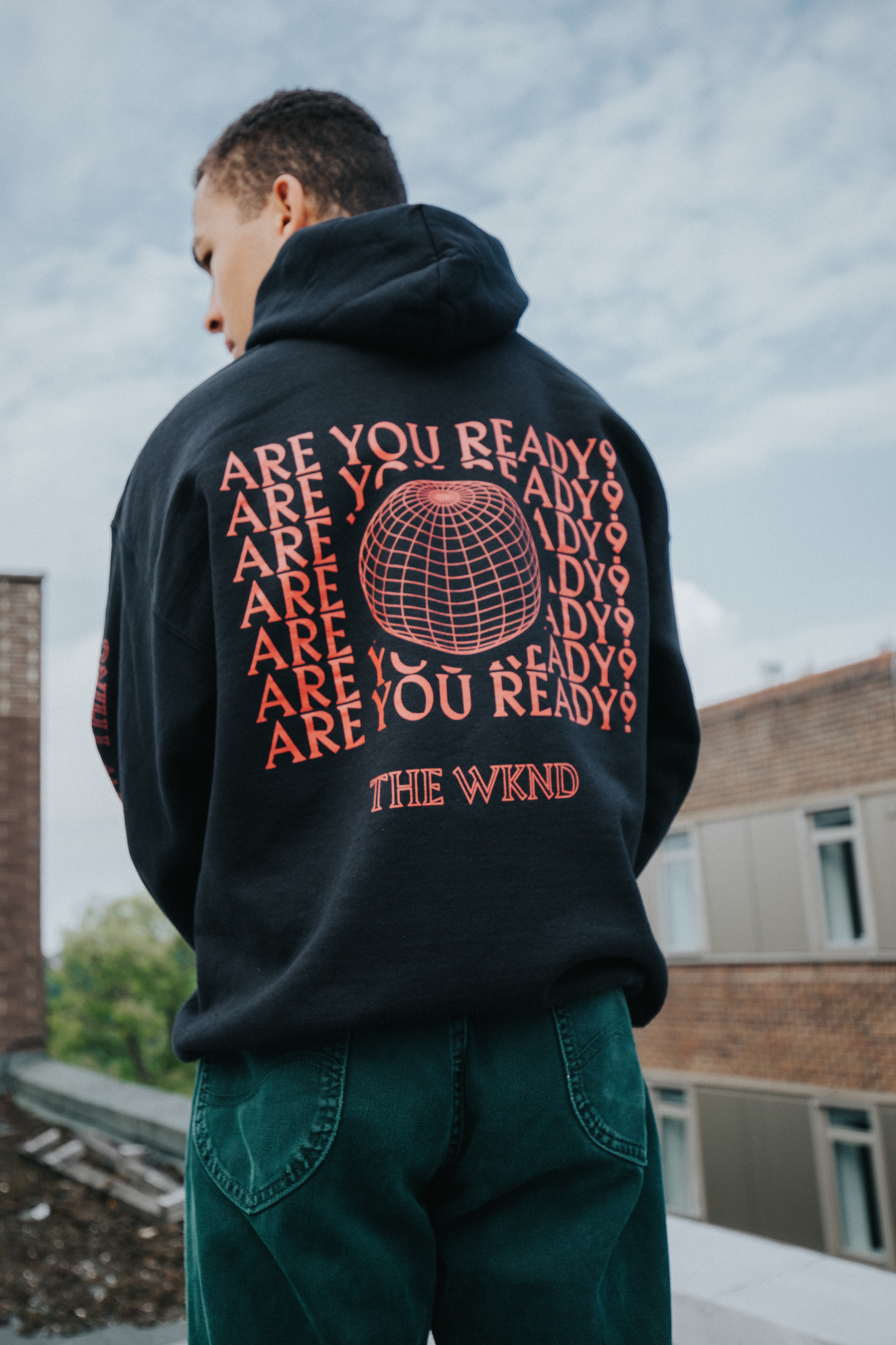Black Pullover Hoodie (A New Normal)
