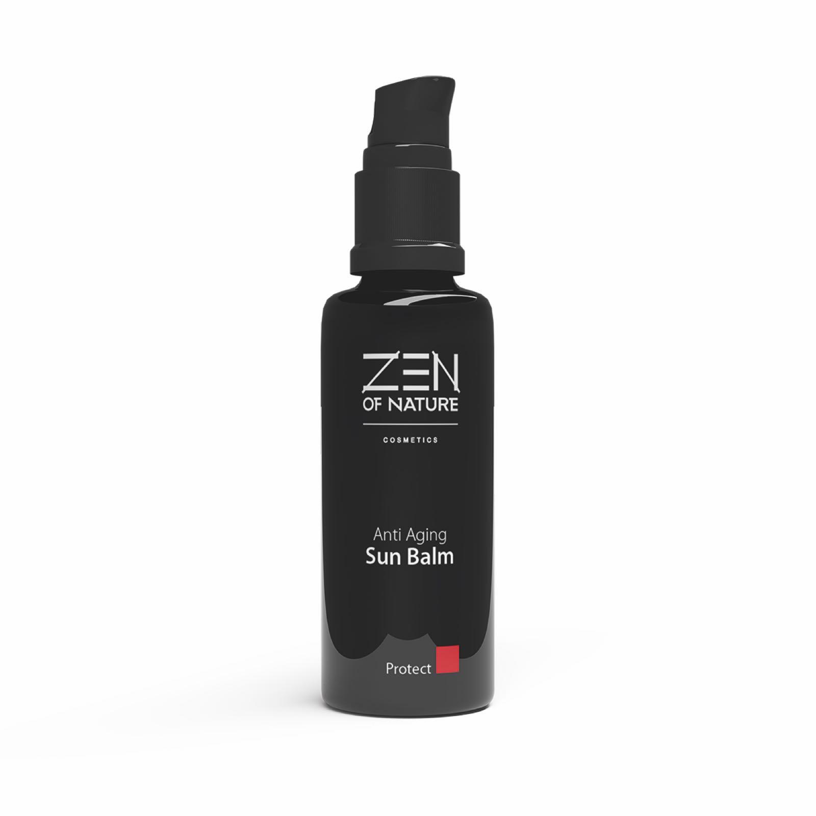 Antiaging Sun Balm Pflegeöl mit Lichtschutzfaktor zum Mischen mit  Serum und Creme