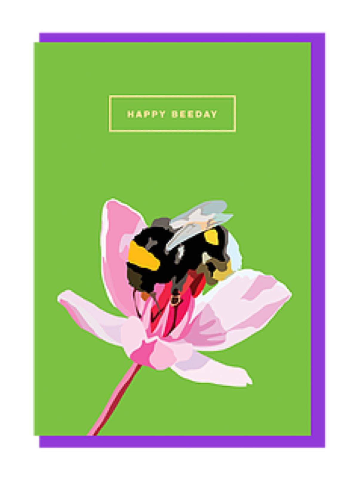 Emily brooks happy beeday card