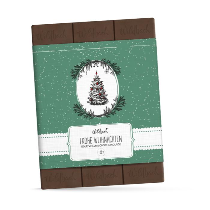 Wildbach Weihnachts-Schokolade