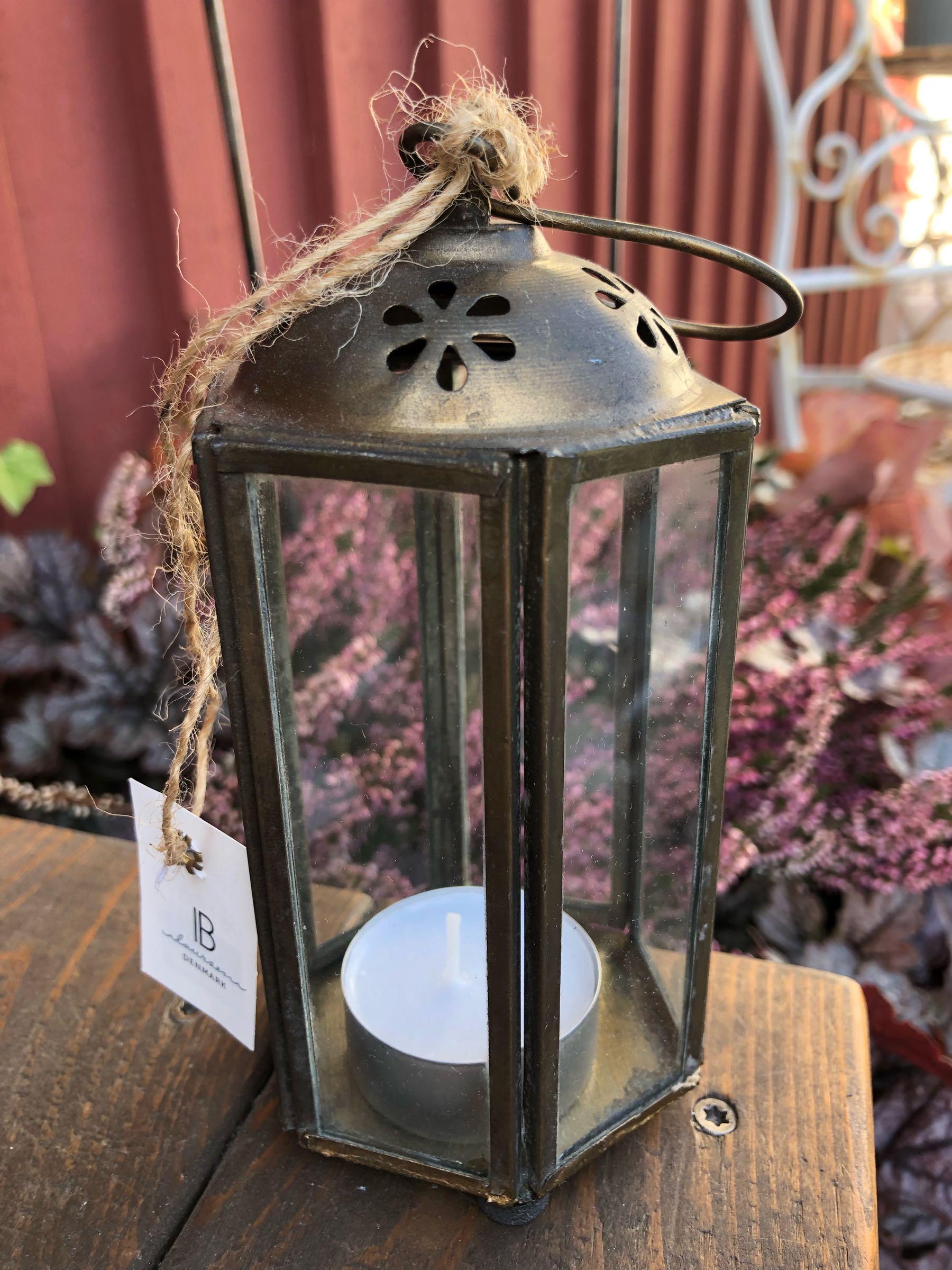 Lantern mini sexkantad rund