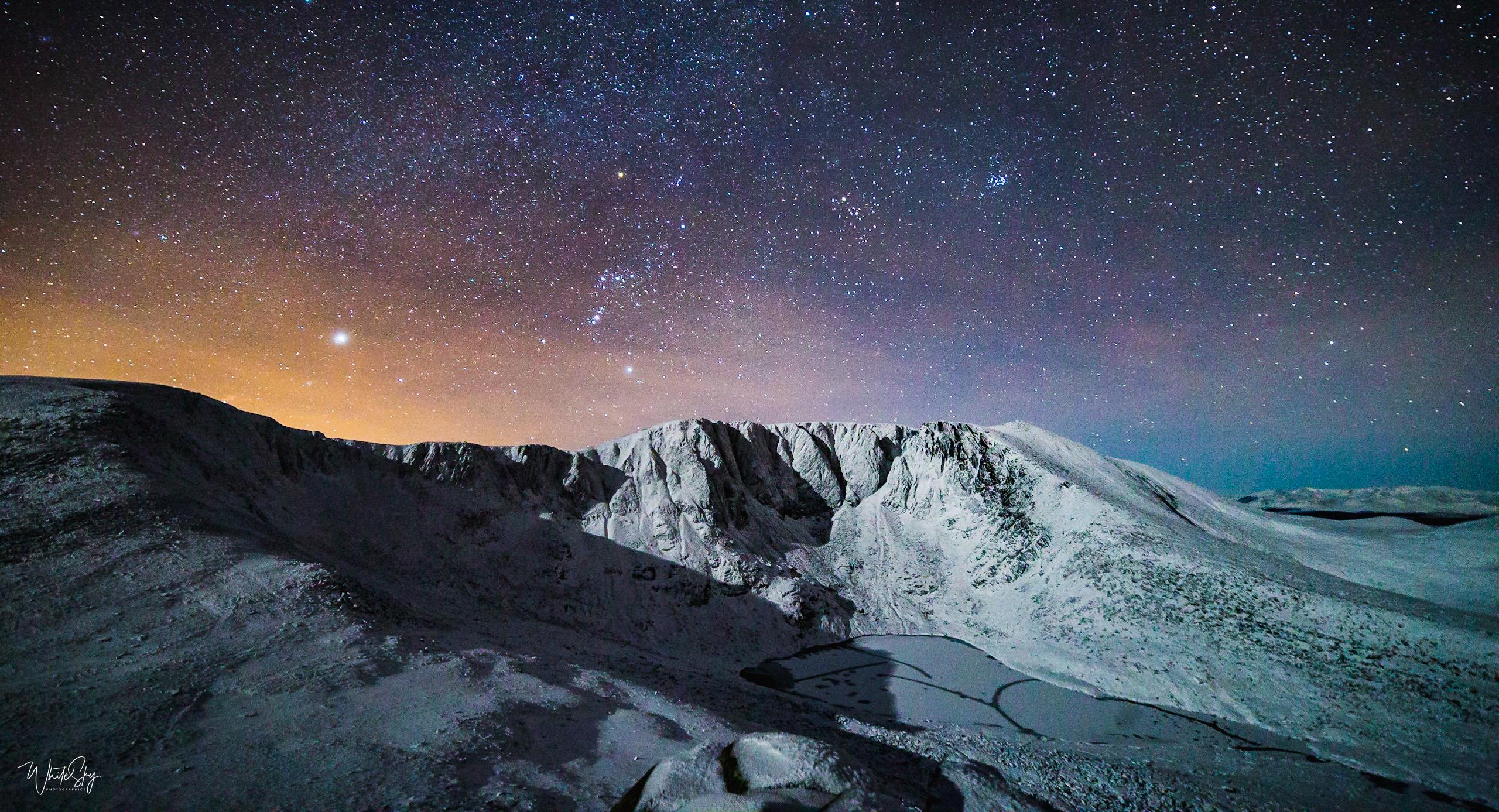 Moonlight over Lochnagar, 100x50cm canvas, signed, 6/10