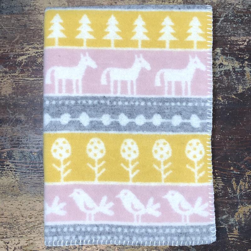 """babydecke """"nature"""", 65 x 90 cm, 100 % lammwolle, klippan yllefabrik"""