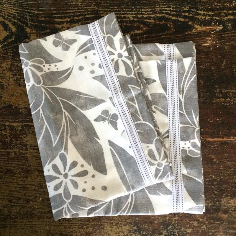 """tischläufer """"butterfly"""", 100 % leinen, 43 x 148 cm, shyness"""