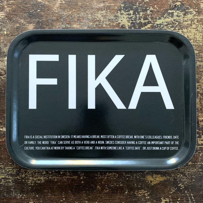 "tablett ""fika"", 20 x 27 cm, formgepresstes holz, i love design/citronelles"