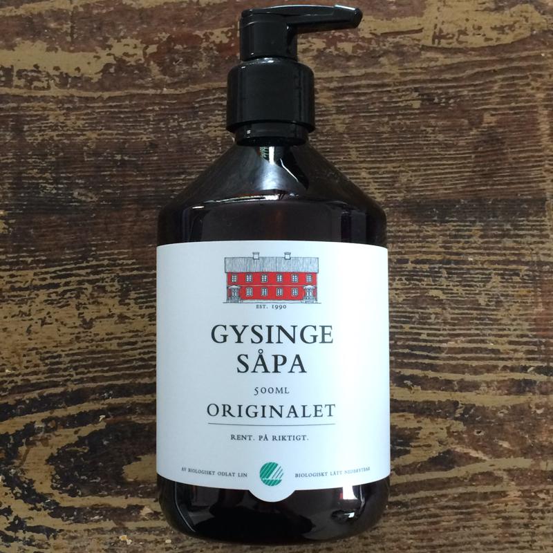 """leinölseife """"gysingesåpa"""", umweltfreundlich und biologisch abbaubar, gysinge byggnadsvård"""