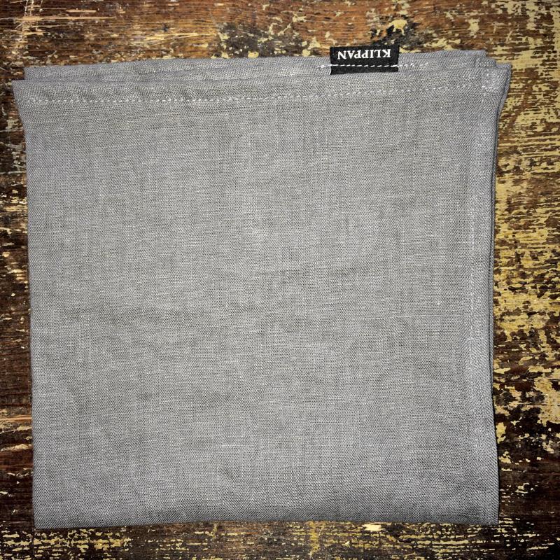 """serviette """"linn"""", 45 x 45 cm, 100 % steingewaschenes leinen, klippan yllefabrik"""