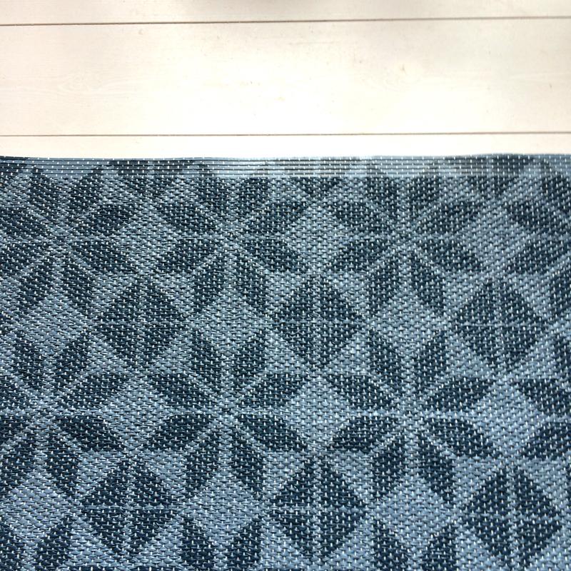 """outdoorläufer """"marokko"""", 90 % pvc, 10 % polyester, 70 x 90 cm, formverket"""