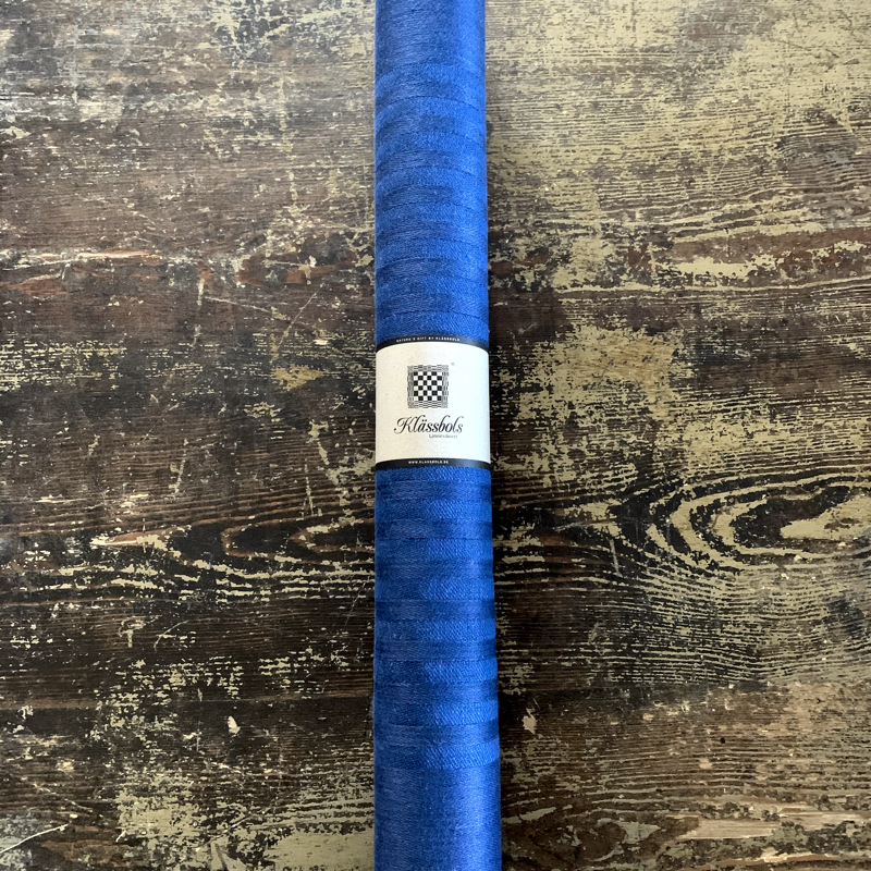 "tischläufer ""blau"", 100 % leinen, 50 x 150 cm, klässbols linneväveri"