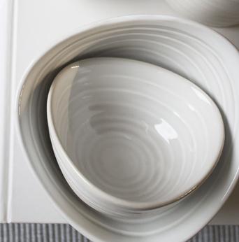 "Schüssel ""Kullen"" Keramik groß"