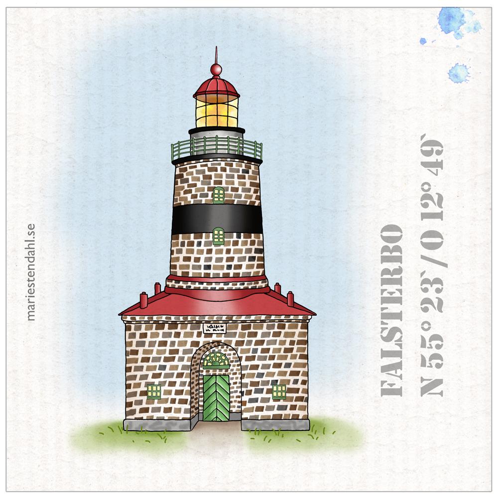 """Spültuch """"Leuchtturm"""""""