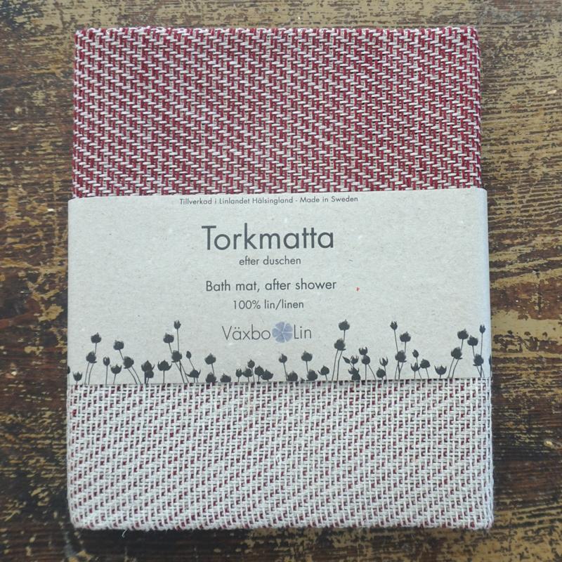 """badeteppich """"torkmatta"""", 100 % leinen, 50 x 70 cm, växbo lin"""