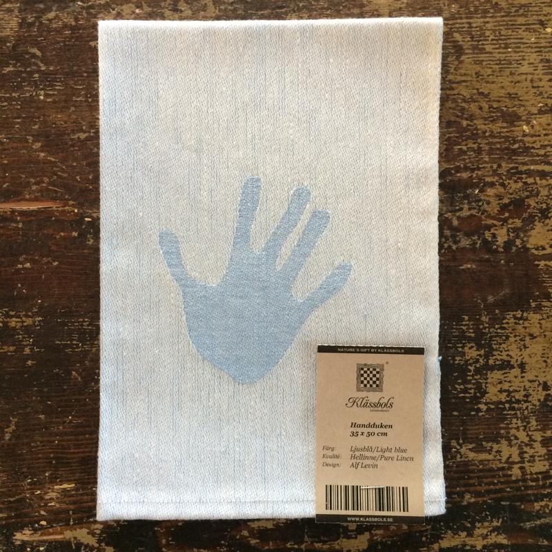 """handtuch """"handduken"""", 100 % leinen, 35 x 50 cm, klässbols linneväveri"""