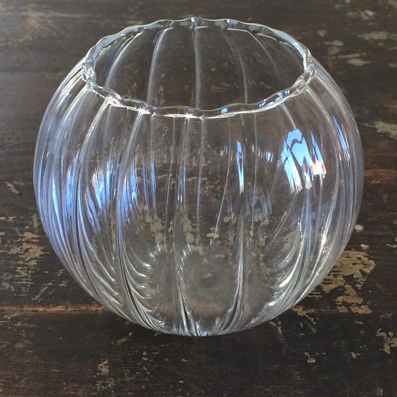 """vase """"blomstermåla"""", glas, Ø ca. 10 cm, storefactory"""