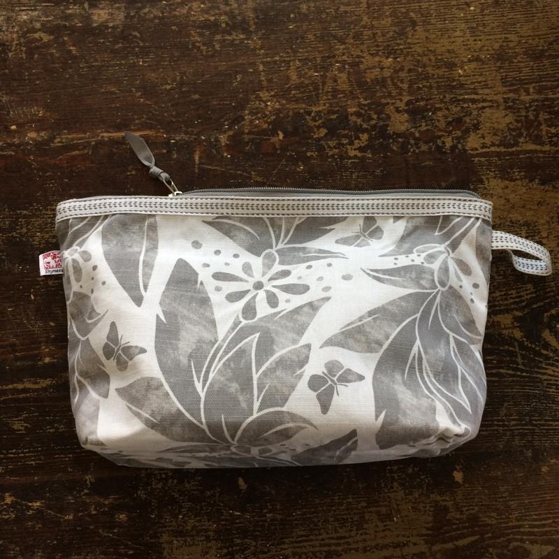 kosmetiktasche groß, verschiedene designs, ca. 20 x 30 cm, 100 % baumwolle, shyness