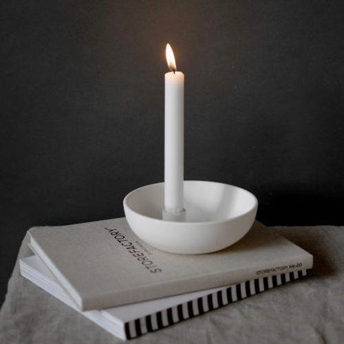 """Kerzenhalter """"Lidatorp"""" klein weiß"""