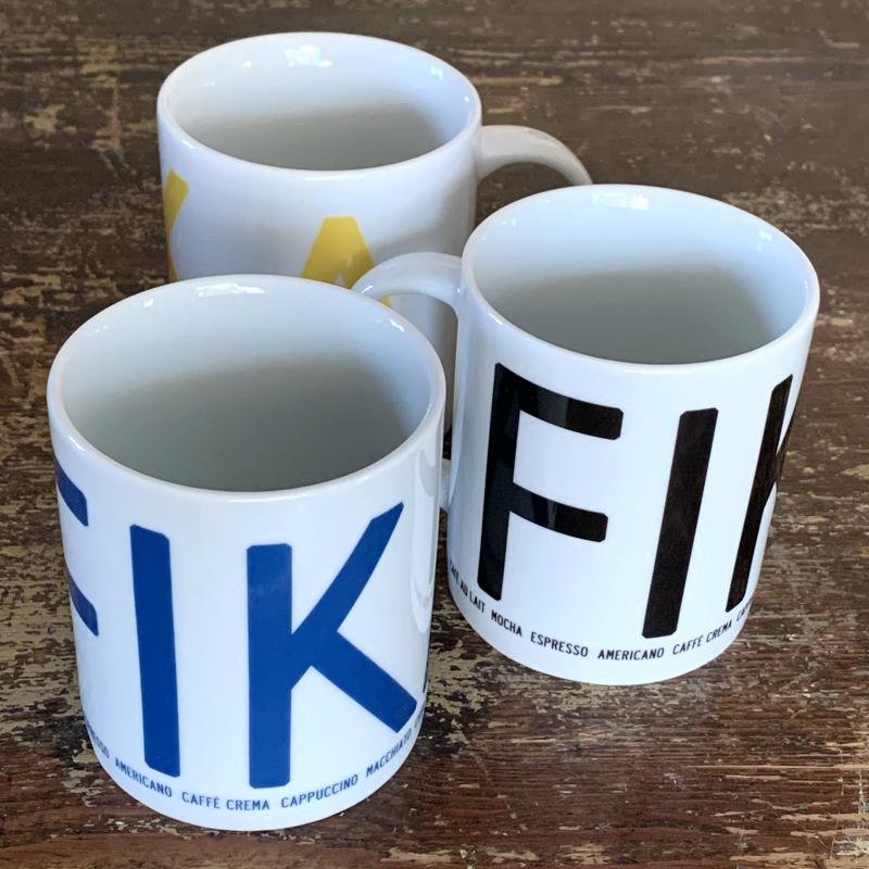"""kaffee-/teepott """"fika"""", porzellan, ca. 10 cm hoch, i love design"""