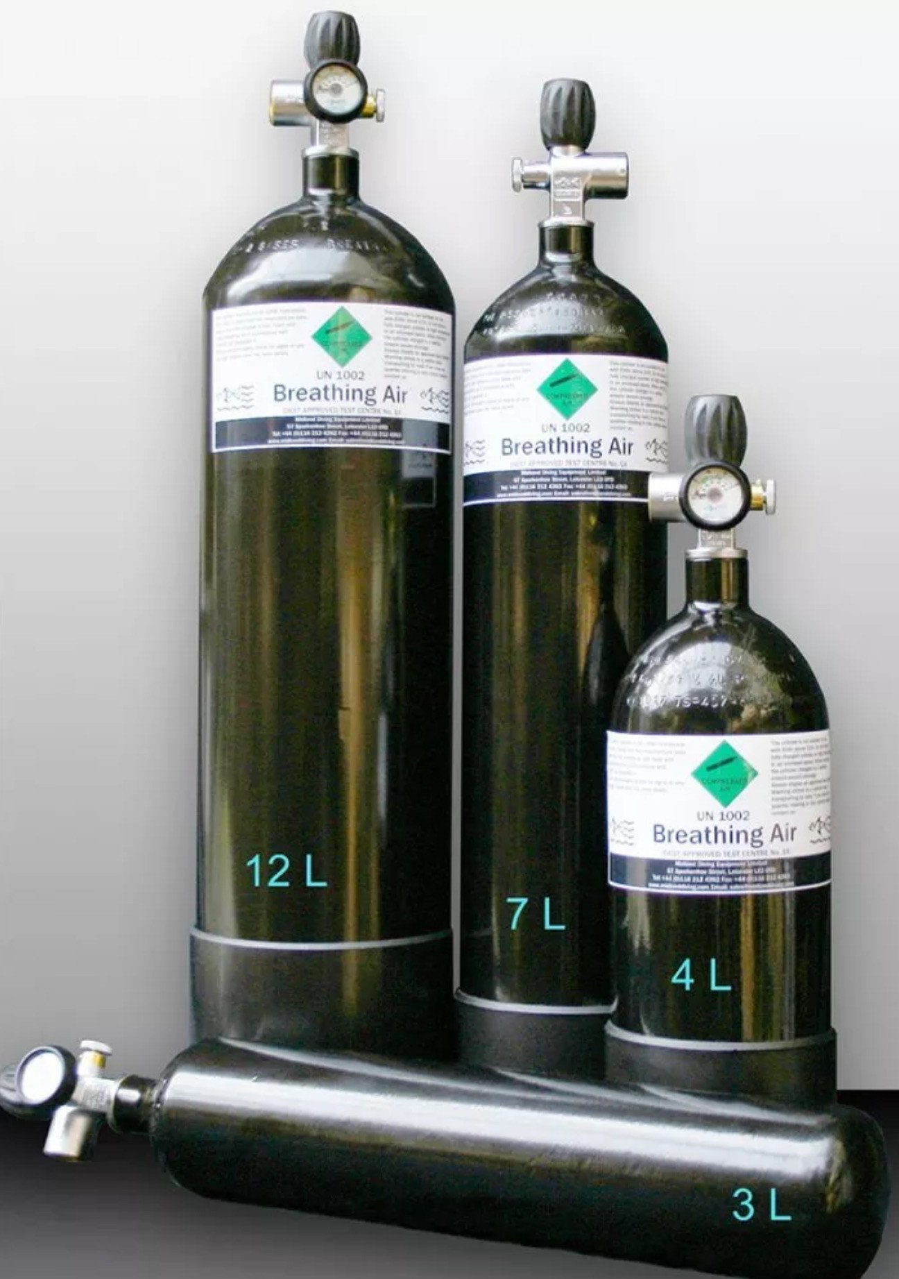 4 Litre Air Gun Cylinder