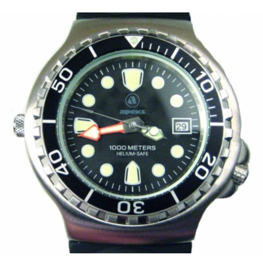 Apeks 1000m Scuba Diving Watch in Presentation Case