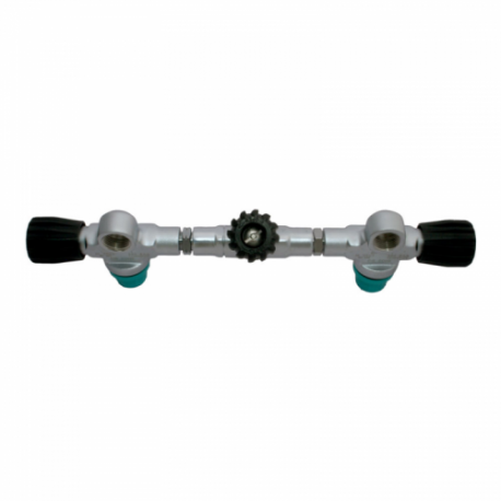 DIRZone Isolation Manifold Complete 204mm Centres 232 bar