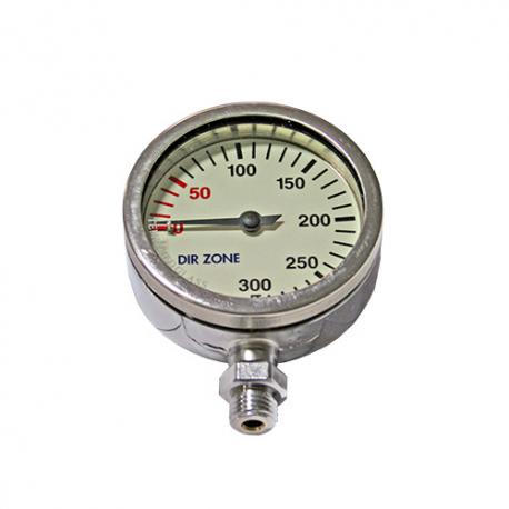 DIRZone 52mm 200 Bar Chrome Pressure Gauge