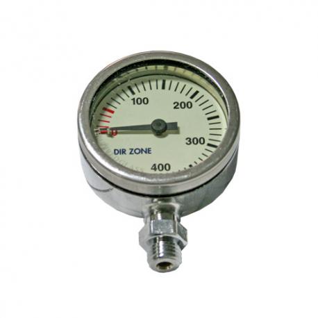 DIRZone 52mm 300 Bar Chrome Pressure Gauge