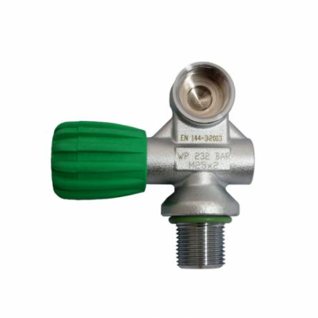 DIRZone Single Right Hand M26 Pillar Valve 232 Bar