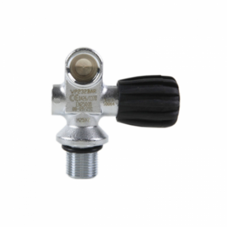 DIRZone Single Left Hand Pillar Valve 232 Bar
