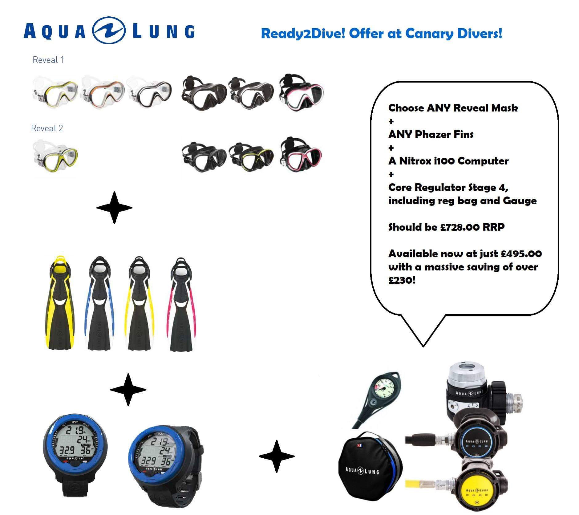 Aqualung Package 1