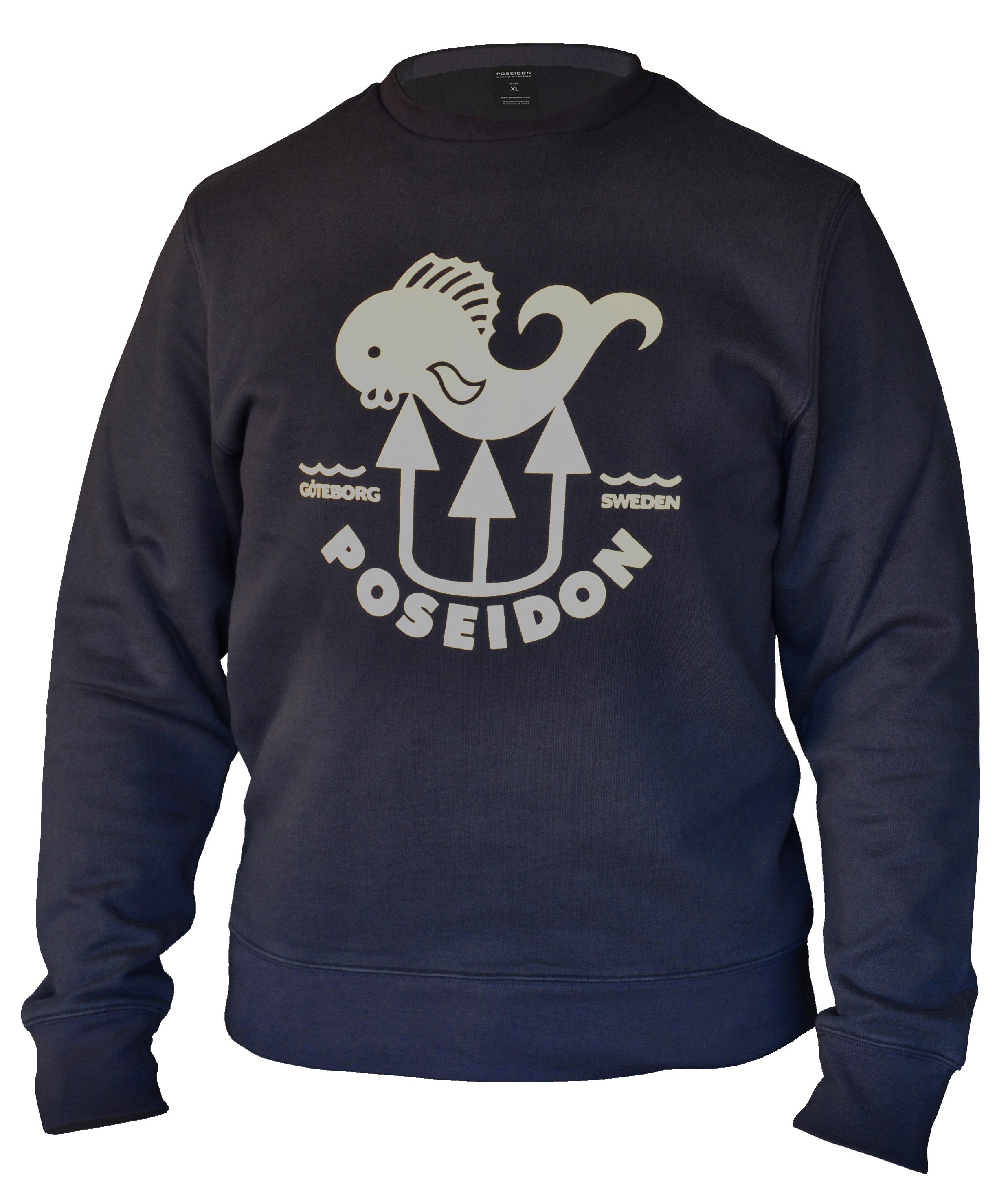 Poseidon Fish Sweatshirt