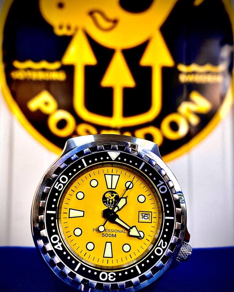 Poseidon Professional Watch