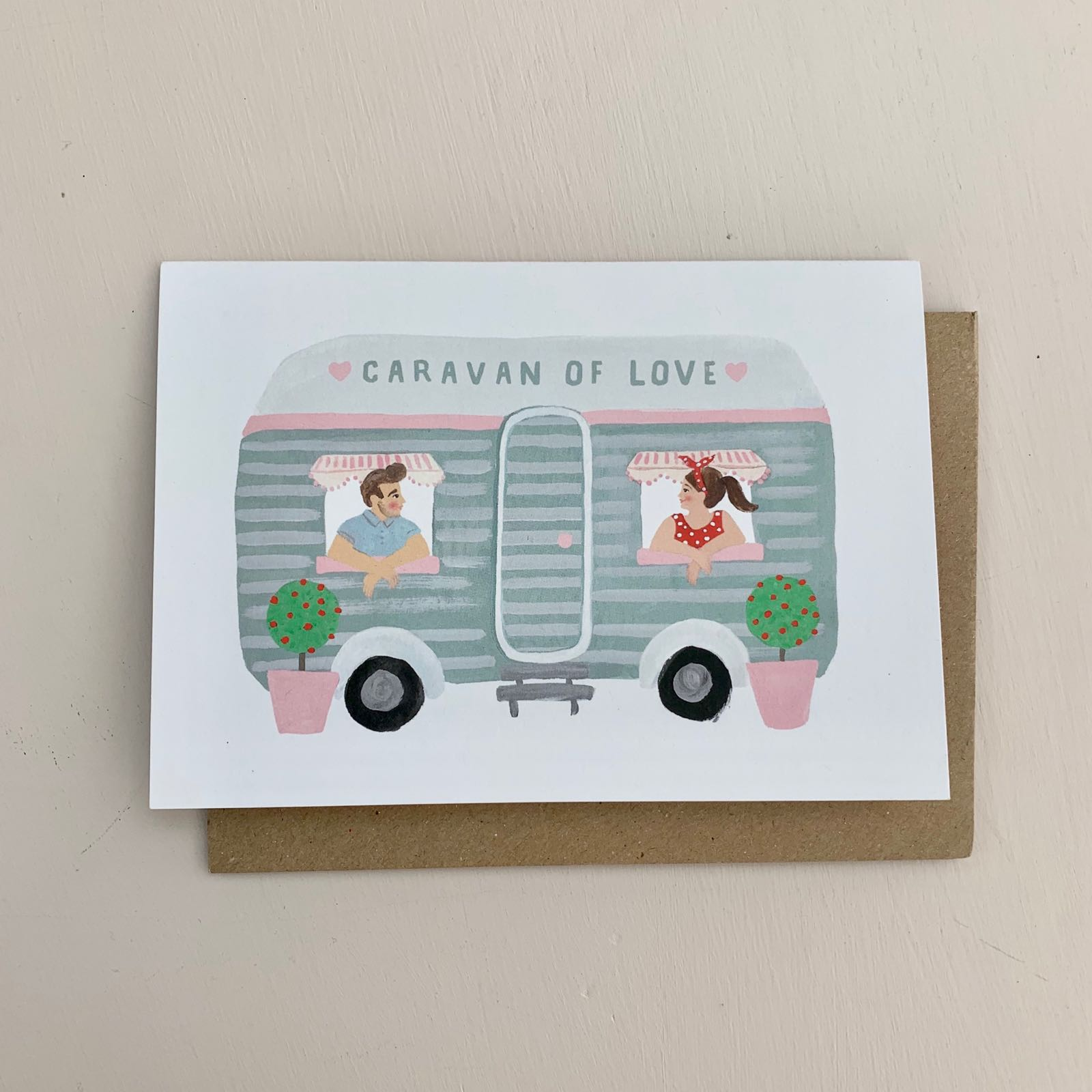 Caravan of Love Card