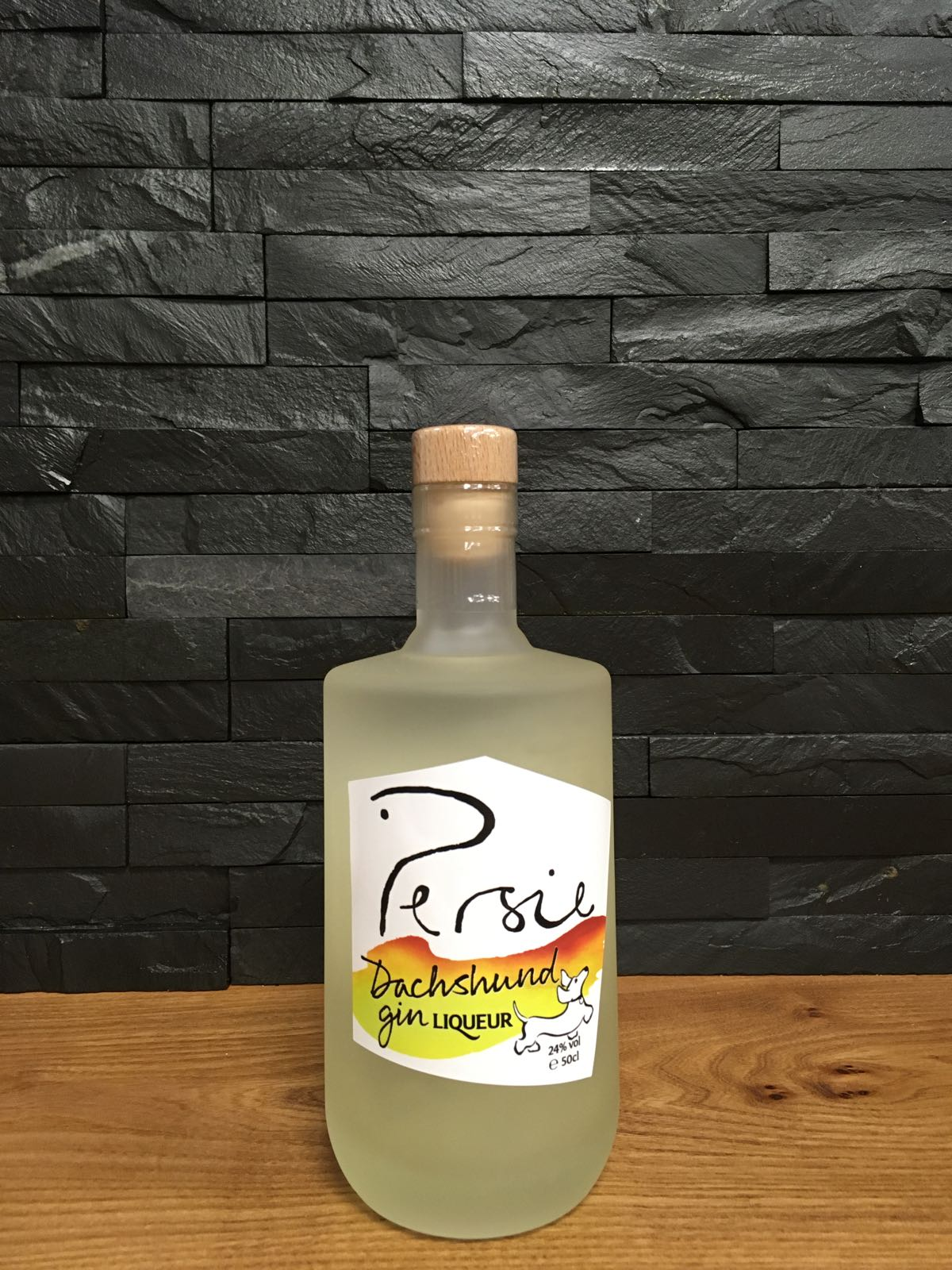 Persie  Dachshund Gin Liqueur 50cl