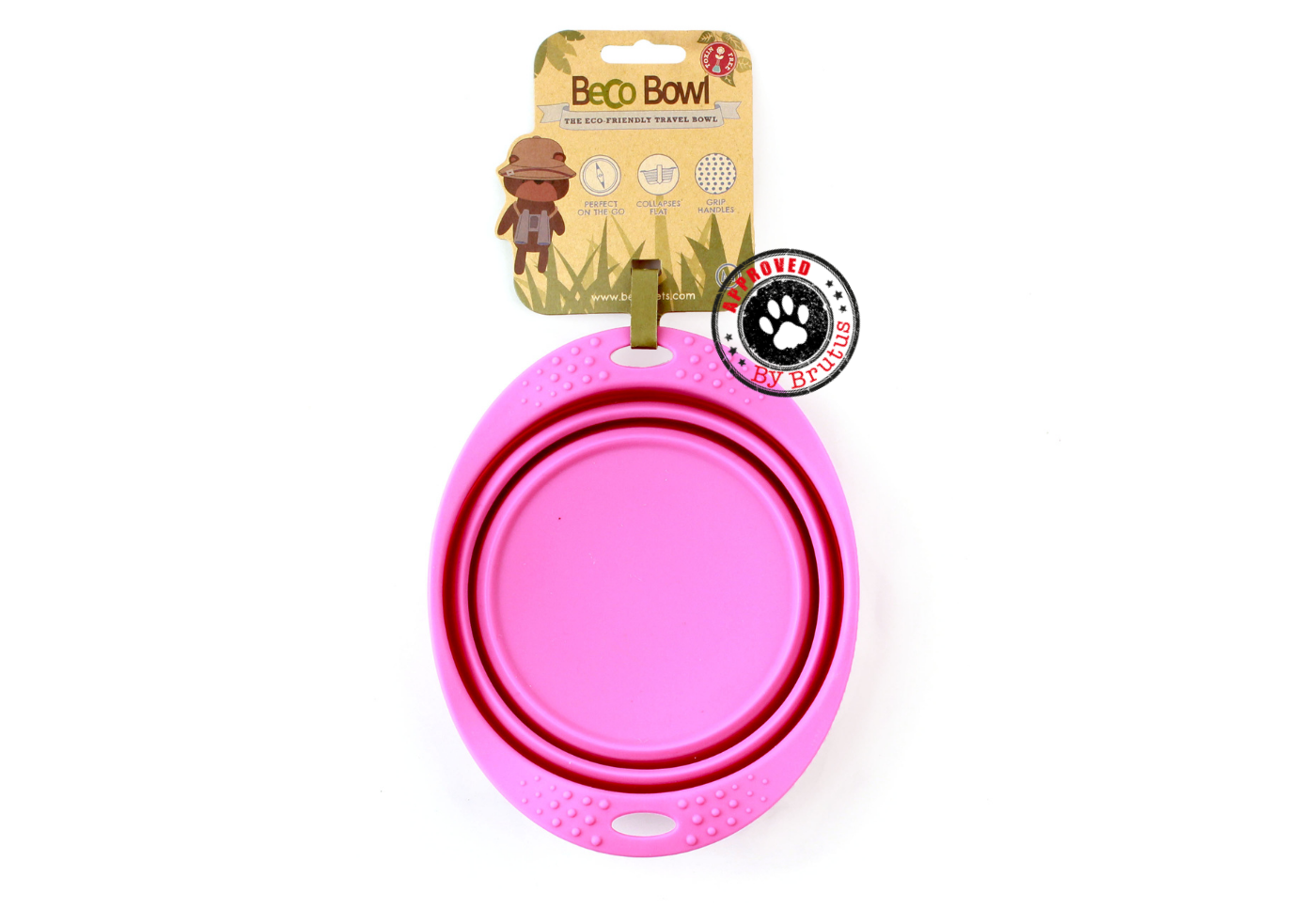 Collapsible Travel Bowl by Beco Pets