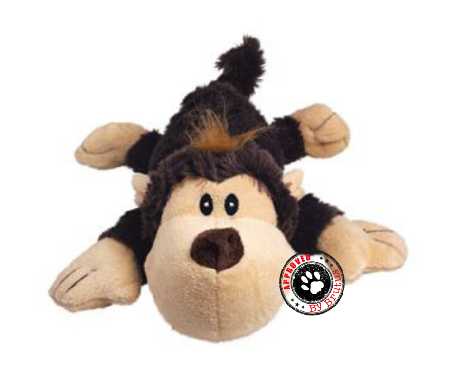 Kong Cozie Dog And Puppy Toy With Squeaker