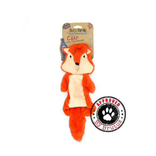 Beco Chad The Chipmunk Stuffing Free Toy