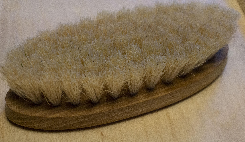 Avjord børste