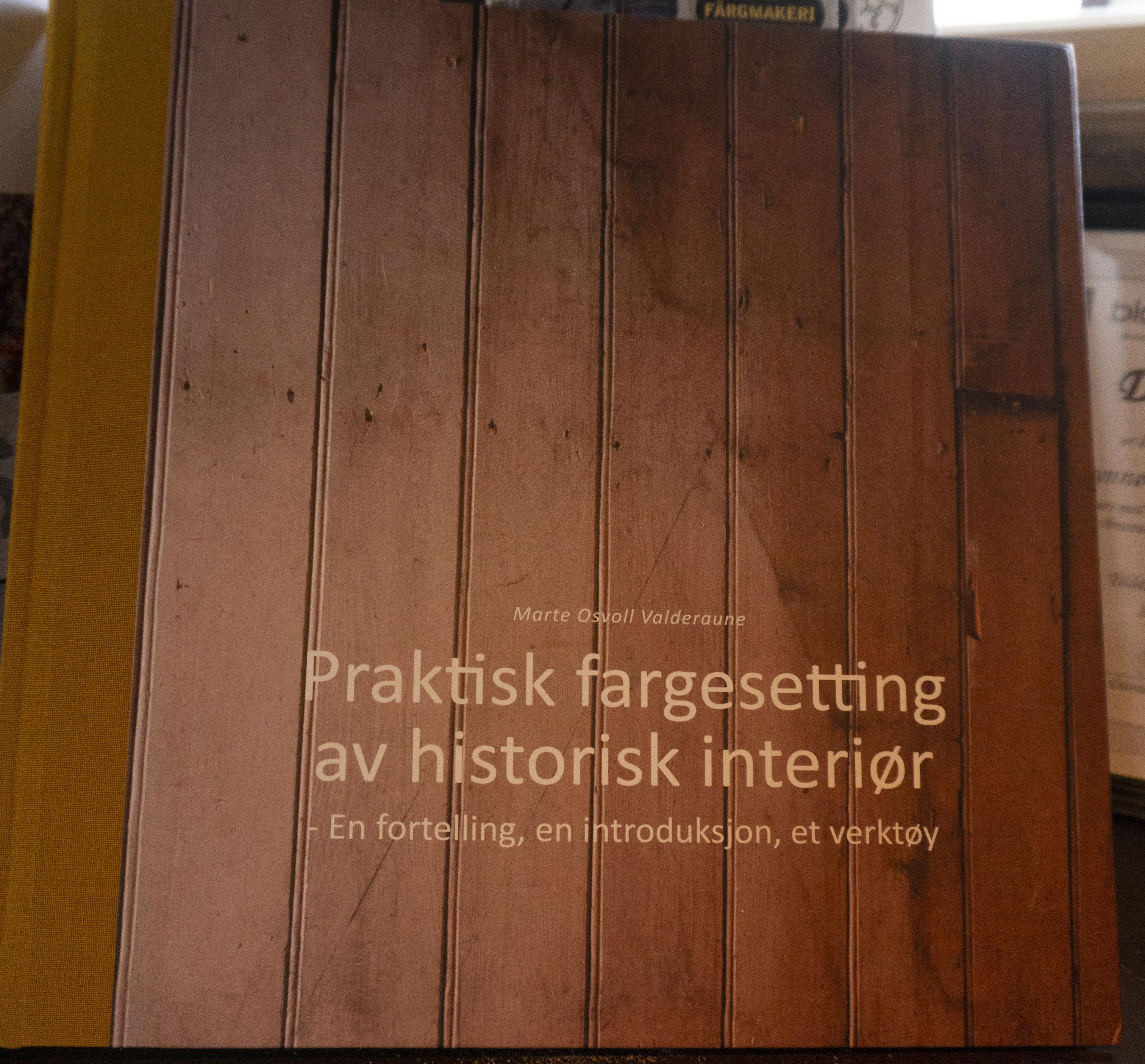 Praktisk fargesetting av historisk interiør